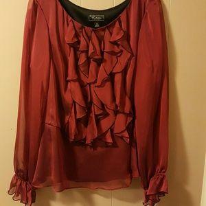 Collection DressBarn size 16 shirt